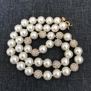 J Crew Large Chunky Pearl Necklace
